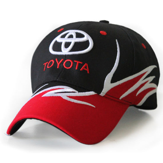 Promotional Cotton Custom Sports 6-Panel Embroidered Flames Baseball Cap