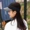 Summer Unisex Custom Cotton Sports Cap Wide Brim Outdoor Plastic Anti-UV Sun Visor Hat