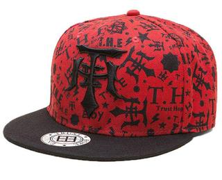Promotional 3D Embroidery Print Sports Fashion Hip-Hop Snapback Hat Cap