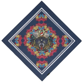BSCI Audit Skull Cowboy Multifunction Exquisite Stitching Quick-Dry UV Protection Square Bandana