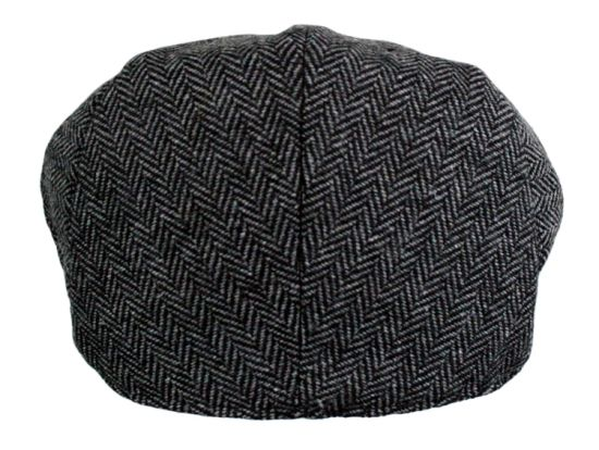 Custom Traditional Style Newsboy IVY Mens Caps and Hat with Soft Quilted Inner Lining