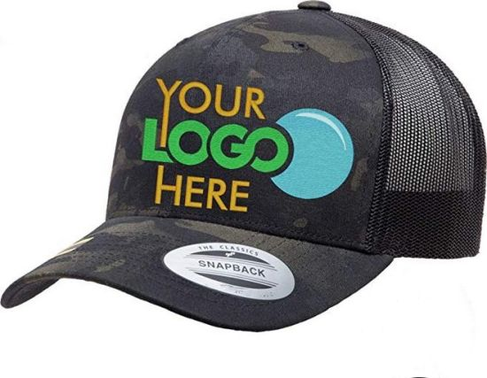 Wholesale Cotton Mesh Embroidered Custom Trucker Hat with Your Logo