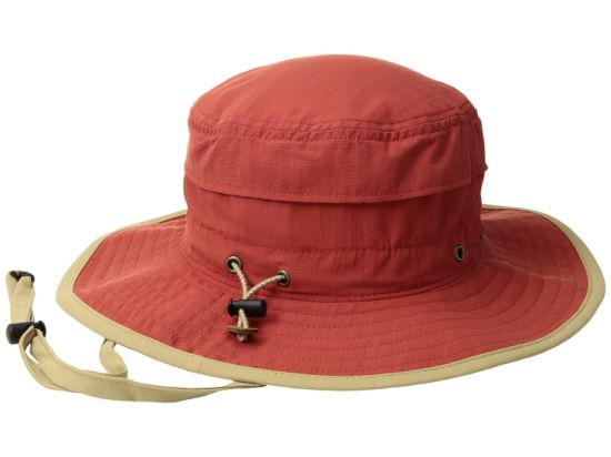 Nylon Custom Bucket Boonie Hat with Adjustable Hatband Toggle Closure