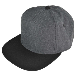 Adjustable 5-Panel Snapback Cap in China Factory with Wool Acrylic