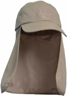 Sedex Audit 100% Polyester Windproof Quick-Dry UV Protection Fish Cap with Neckflap