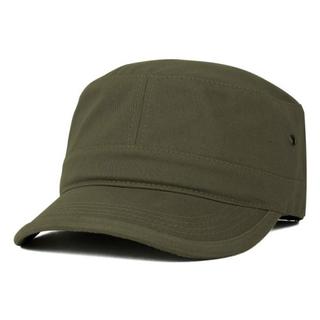 Sedex Audit 100% Cotton Flat Top Jeep Style Adjustable Army Cap